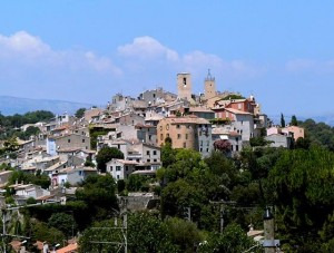 Biot, France. Medieval vvillage on a Hill