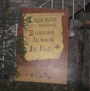 Medieval Christmas Faire in Taulignan