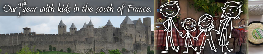 Kids and Castles - Our year with kids in the South of France